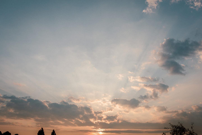 Sonnenaufgang an der Alster