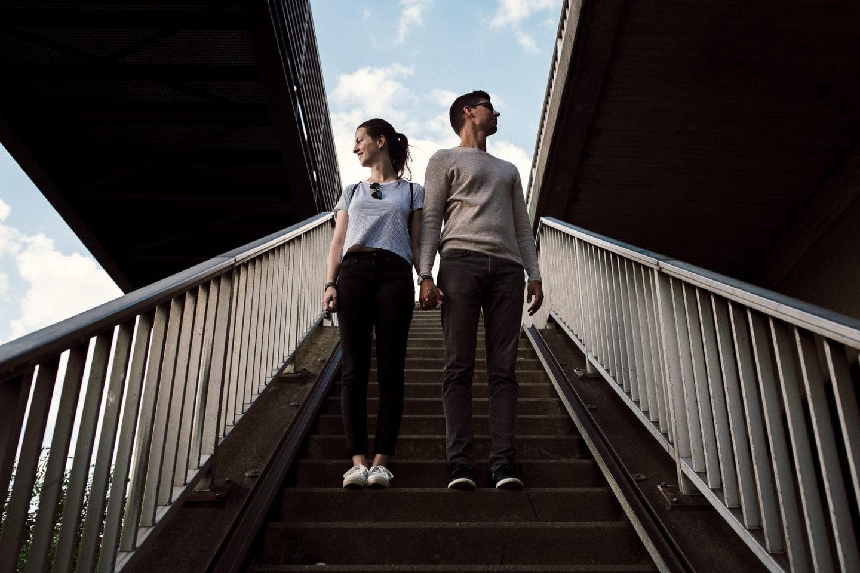 künstlerische Paarfotos in Hamburg