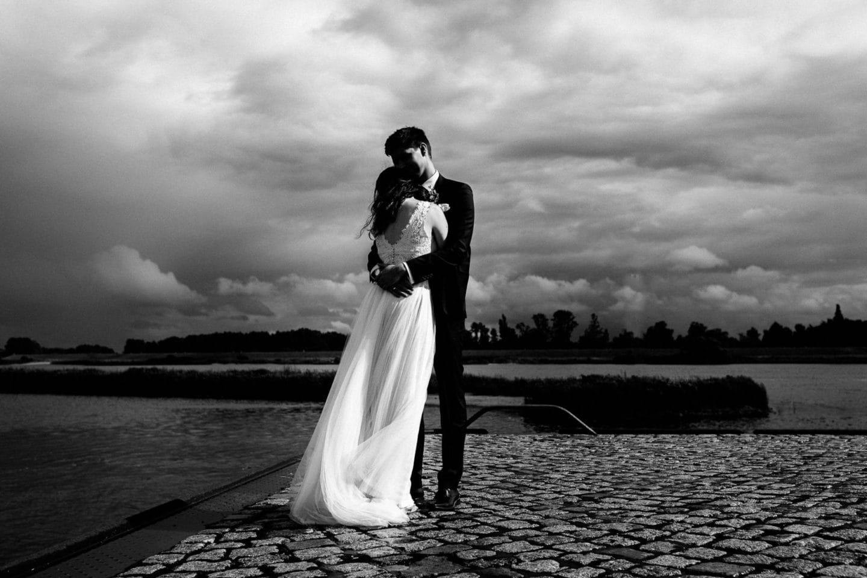 stürmische Hochzeitsfotos - Hochzeitsfotograf Hamburg