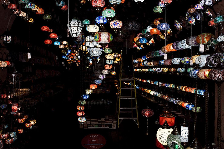 Lampen in Camden Town
