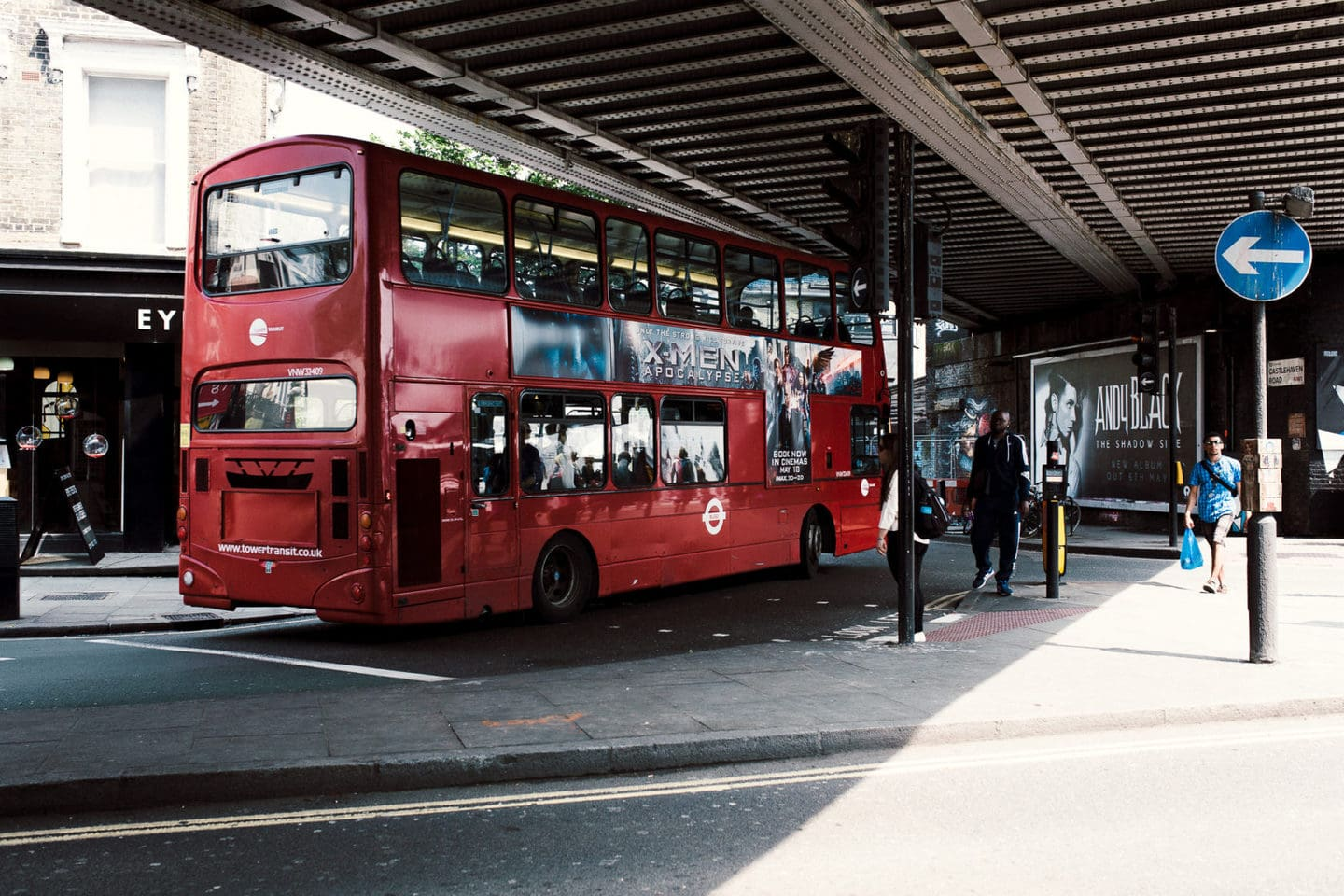 Sight seeing Bus in Camden Town
