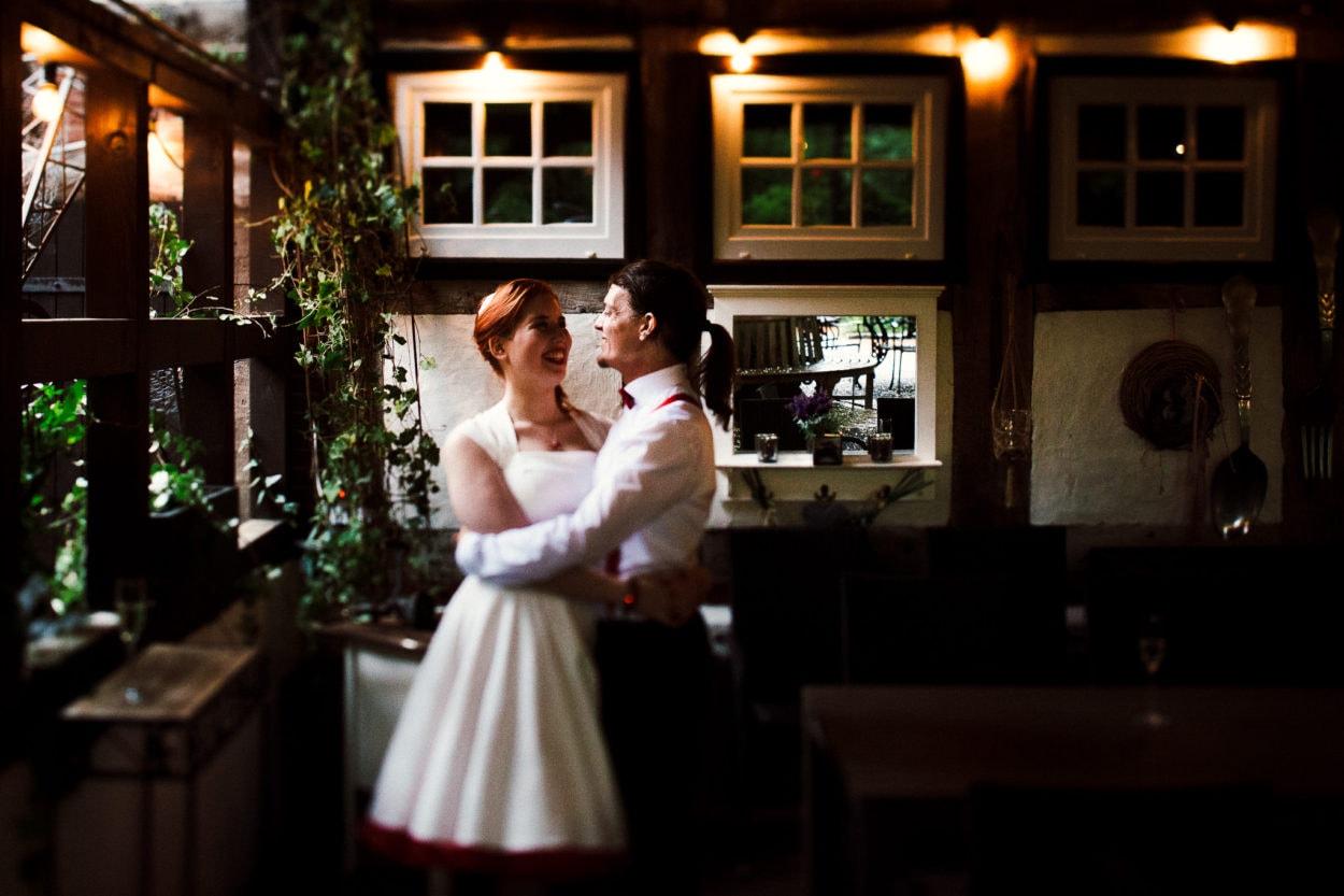 Brautpaarshooting im Heuhotel Hildebrand