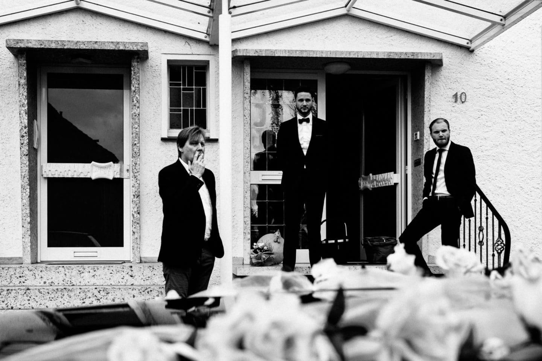 Die Gang des Bräutigams in Rietberg