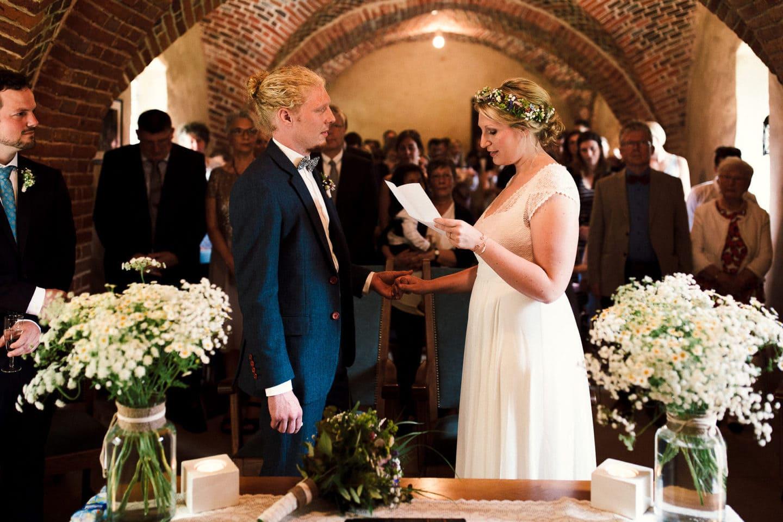 Das Eheversprechen im Schloss Sythen