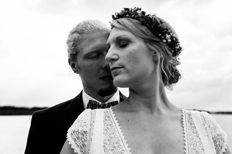 kreative Hochzeitsfotografie am Silbersee