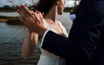 Eine stürmische Hochzeit im Zollenspieker Fährhaus